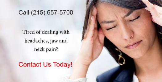 TMJ, headaches and jaw pain